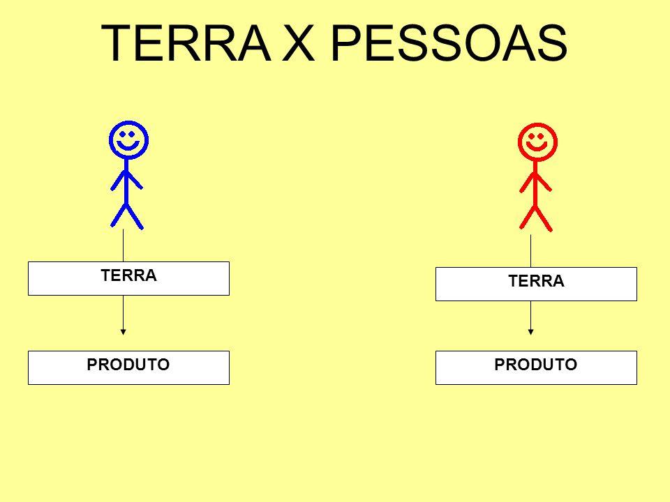 TERRA X PESSOAS PRODUTO TERRA