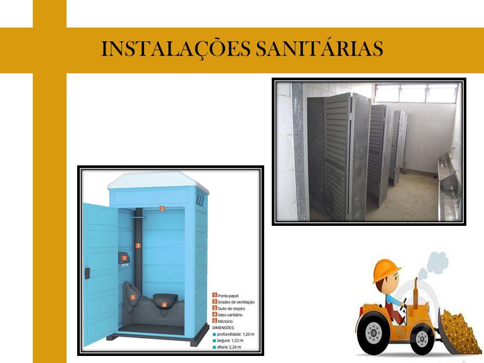 INSTALAÇÕES SANITÁRIAS