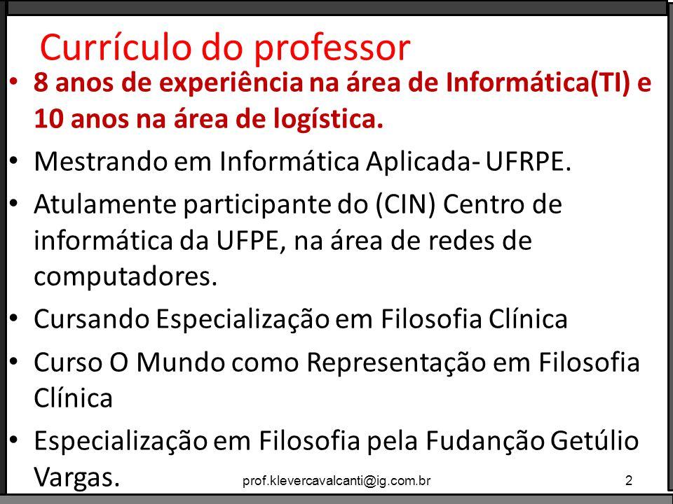 Cont.Graduando em Filosofia (Universidade Metodista de São Paulo).