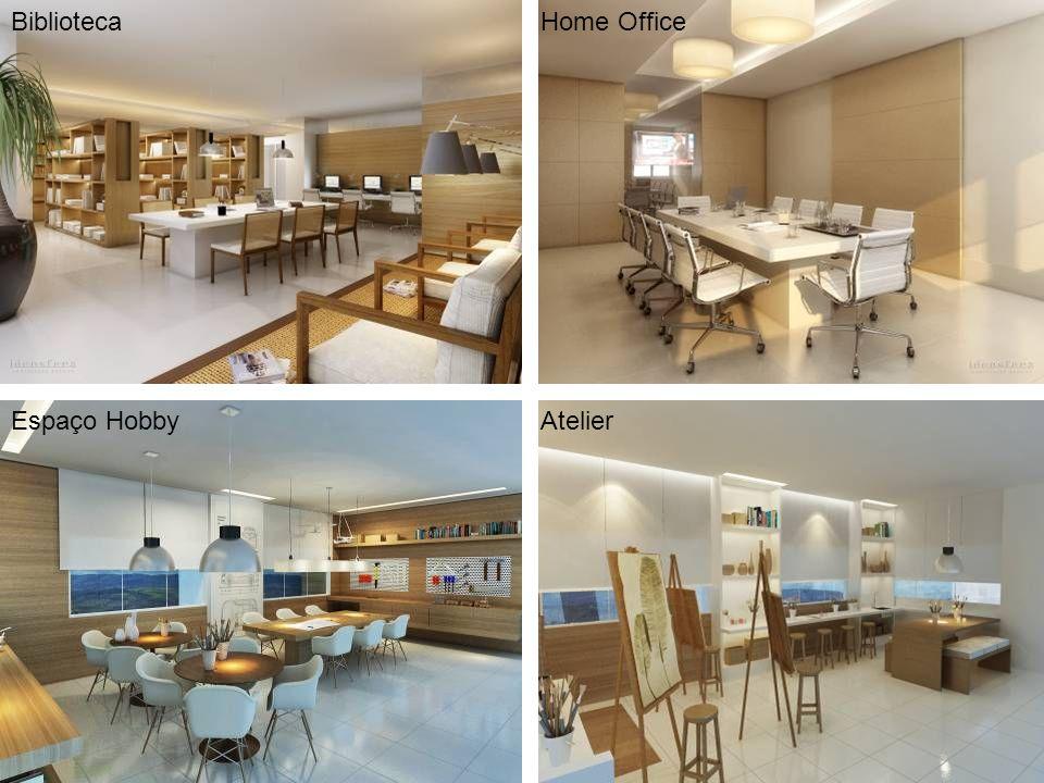 BibliotecaHome Office Espaço HobbyAtelier