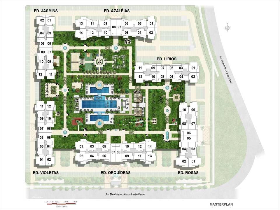 2 Quartos (1 suíte) - 74,68 m² a 78,10