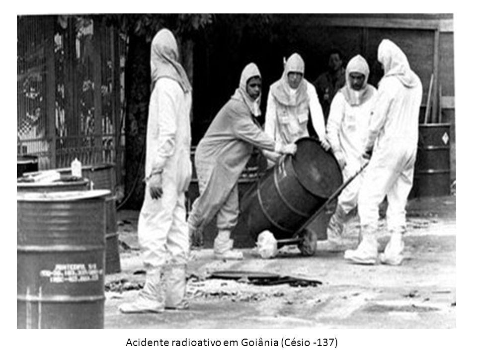 Acidente radioativo em Goiânia (Césio -137)