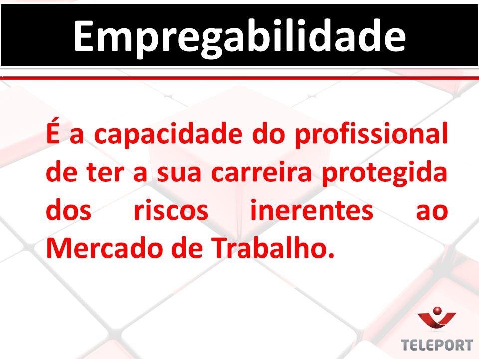 É a capacidade do profissional de ter a sua carreira protegida dos riscos inerentes ao Mercado de Trabalho. EmpregabilidadeEmpregabilidade