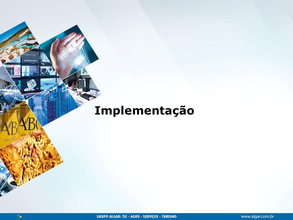 Área, dia/mês/ano Implementação