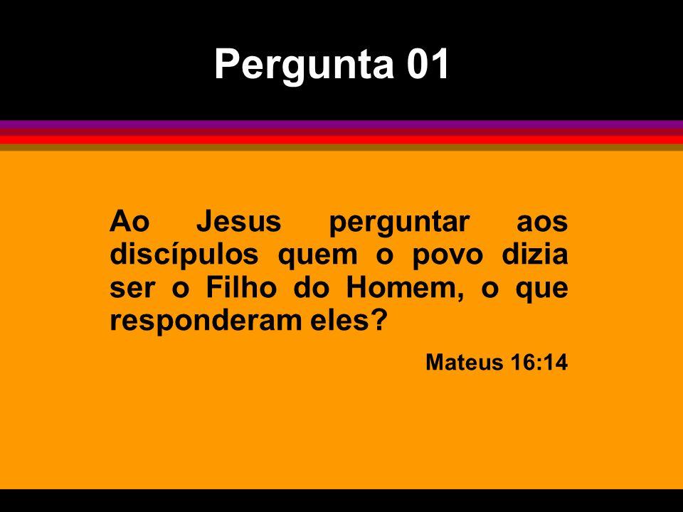 E eles responderam: Uns dizem: João Batista; outros: Elias; e outros: Jeremias ou algum dos profetas. Mateus 16:14 E eles responderam: Uns dizem: João Batista; outros: Elias; e outros: Jeremias ou algum dos profetas. Mateus 16:14