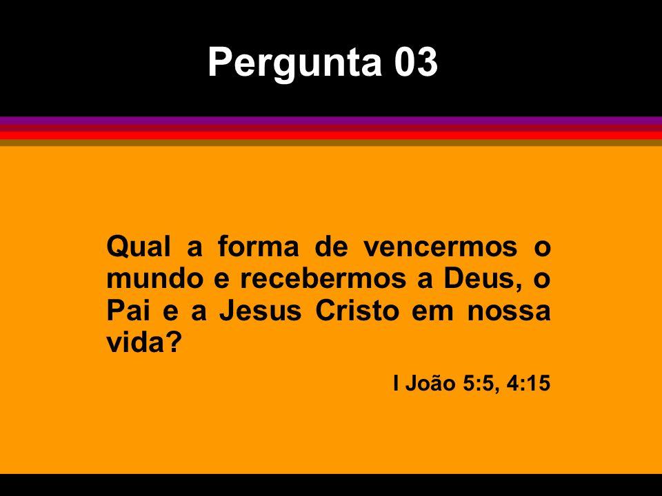 Como ser humano, Jesus foi gerado por quem? Mateus 1:20-21 Pergunta 06