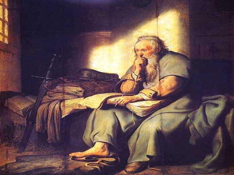 Na 2ª Leitura, PAULO: (também preso, prestes a morrer, ano 67), escreve um Testamento espiritual de sua vida a serviço do Evangelho, um caminho a ser seguido por todos os cristãos...