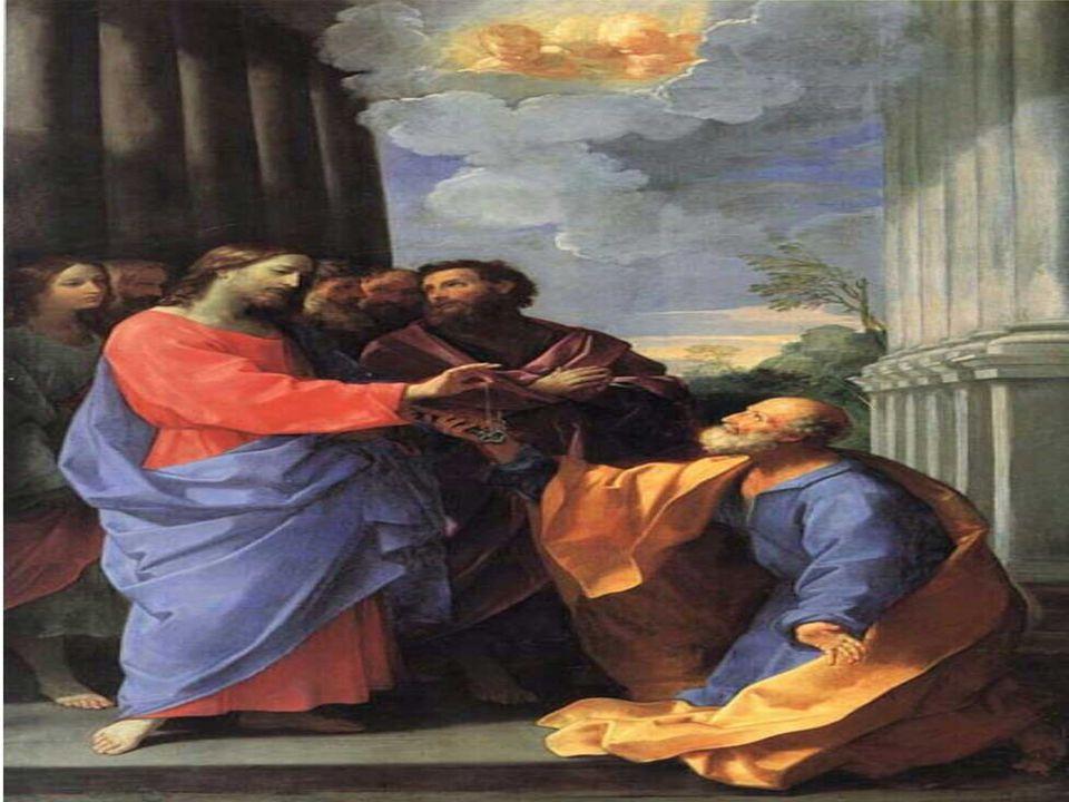 No Evangelho, Cristo confere a PEDRO o Primado sobre a Igreja. (Mt 16,13-19) É uma Catequese sobre o Papel eclesial de Pedro. Tem duas partes: 1. Cris