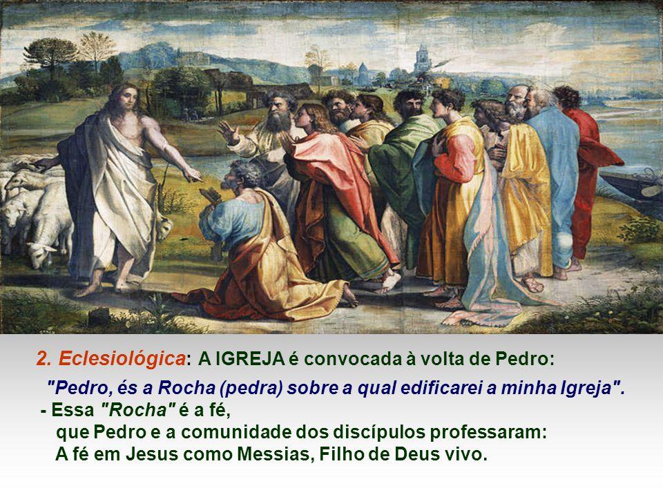 O Messias esperado por Israel para libertar e salvar o seu povo, Filho de Deus: profunda unidade e intimidade entre Jesus e o Pai... * Quem é Jesus pa