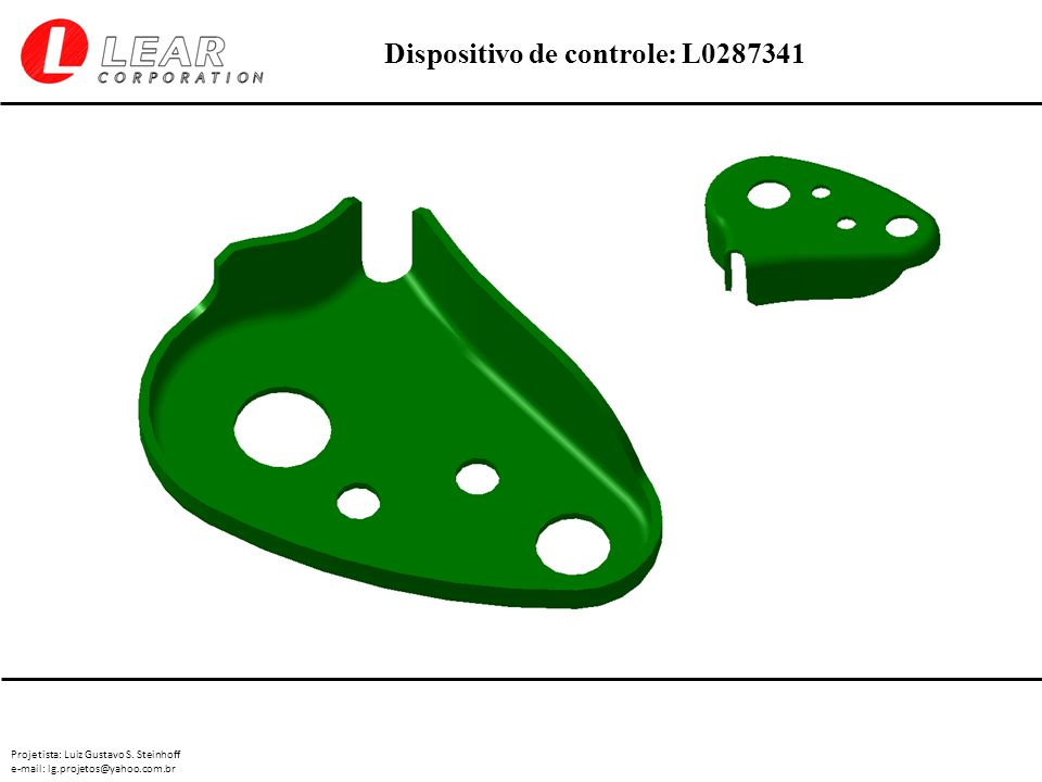 Projetista: Luiz Gustavo S. Steinhoff e-mail: lg.projetos@yahoo.com.br Dispositivo de controle: L0287341