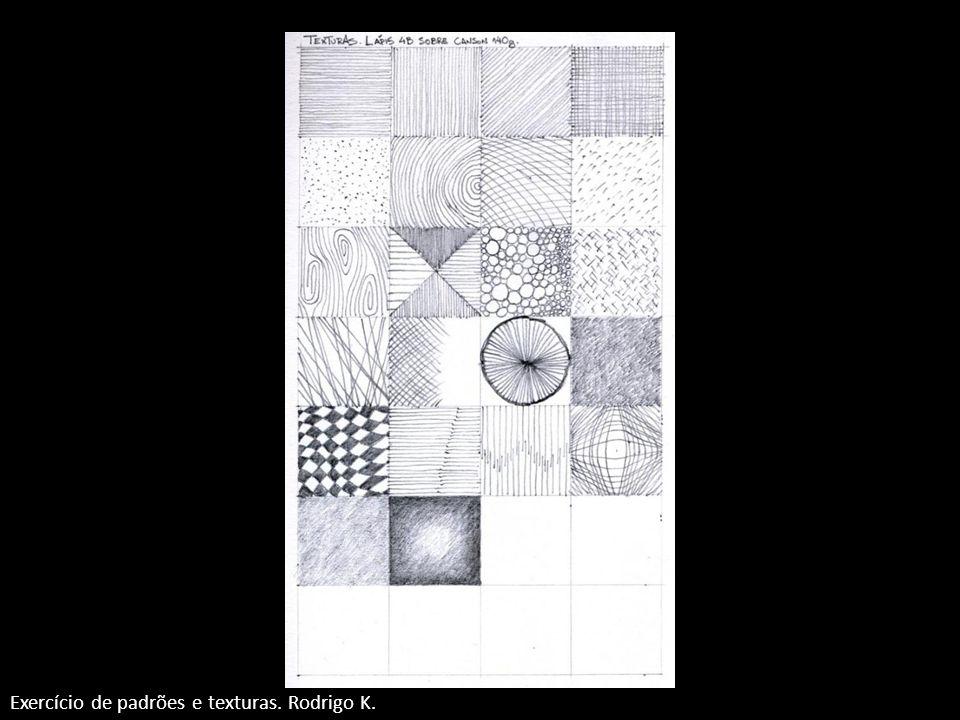 Exercício de padrões e texturas. Rodrigo K.