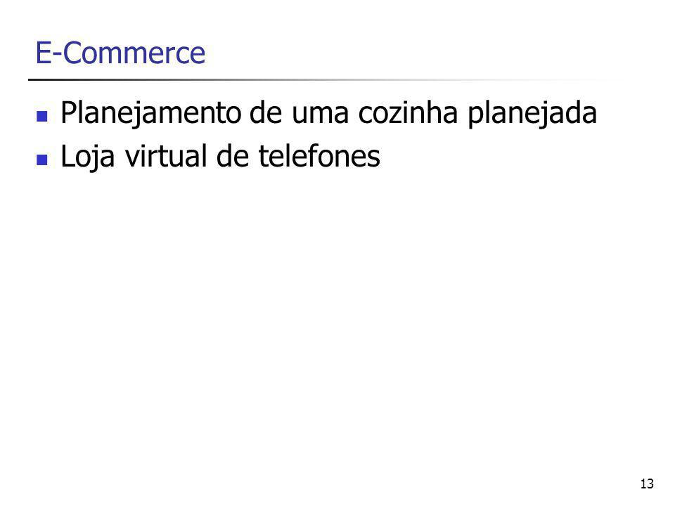13 E-Commerce Planejamento de uma cozinha planejada Loja virtual de telefones