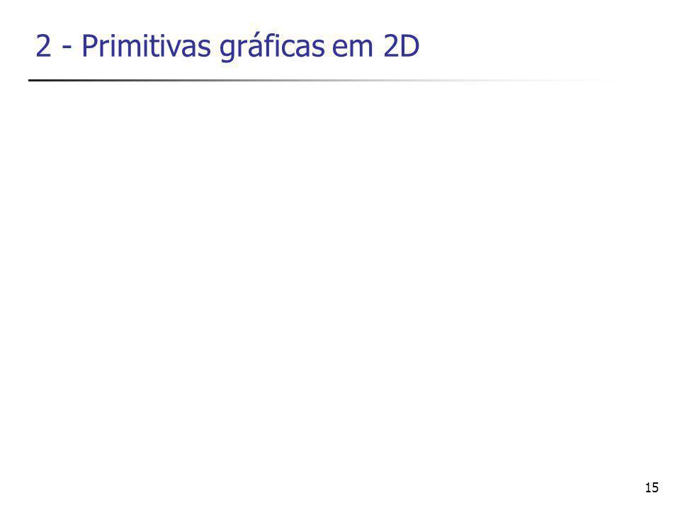 15 2 - Primitivas gráficas em 2D