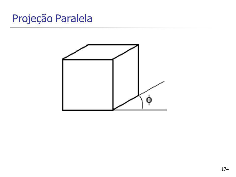 174 Projeção Paralela