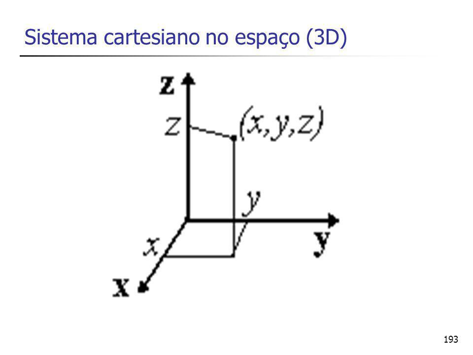 193 Sistema cartesiano no espaço (3D)