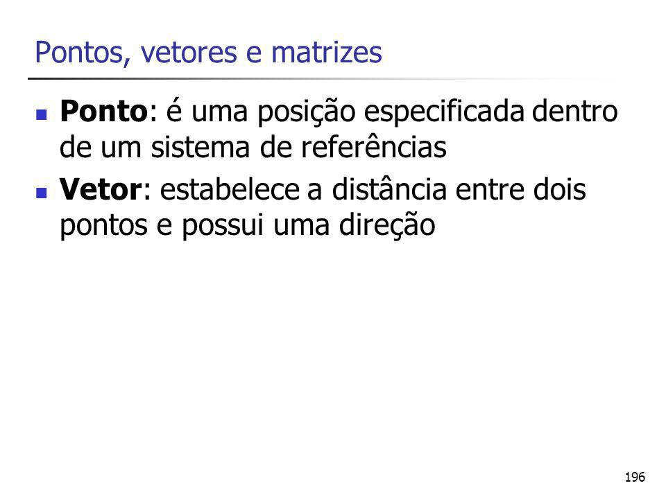 197 Definição de um vetor no plano cartesiano