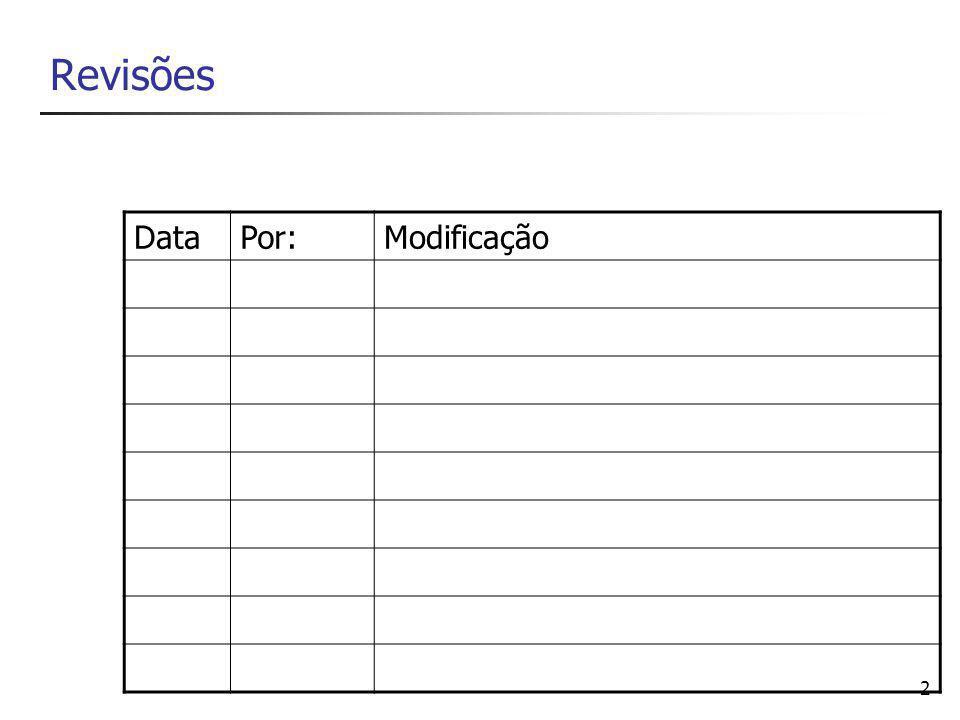 2 Revisões DataPor:Modificação