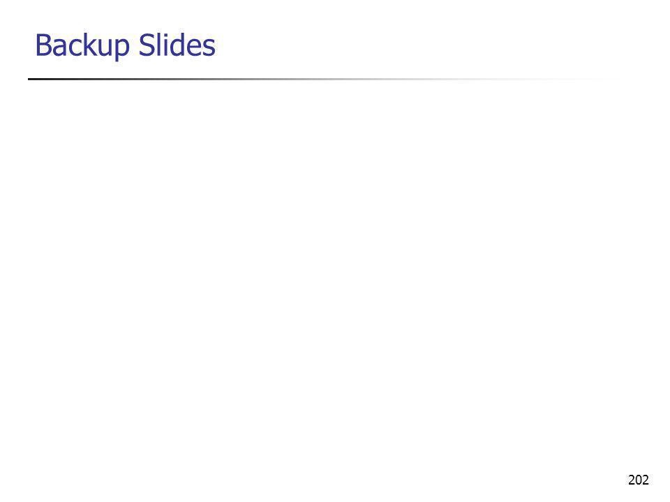202 Backup Slides