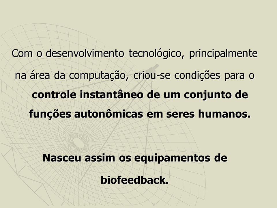 Com o desenvolvimento tecnológico, principalmente na área da computação, criou-se condições para o controle instantâneo de um conjunto de funções autonômicas em seres humanos.