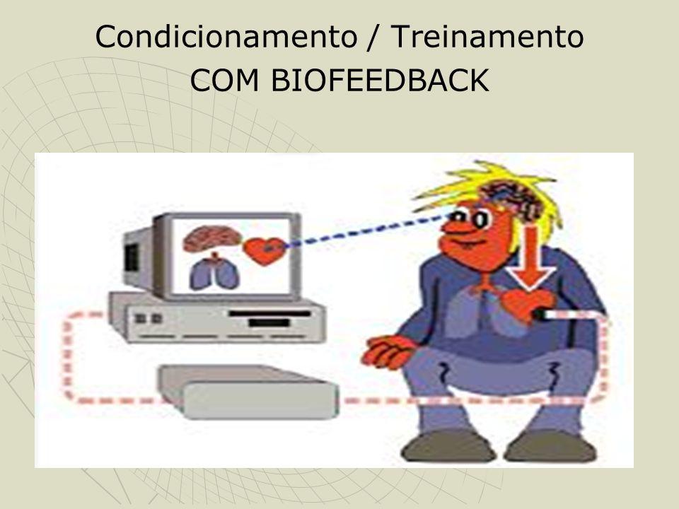 Condicionamento / Treinamento COM BIOFEEDBACK