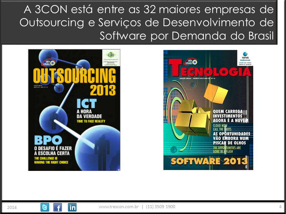 www.trescon.com.br | (11) 3509 1900 2014 5 Alguns Clientes