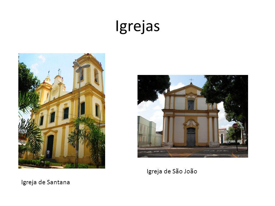 Igrejas Igreja de Santana Igreja de São João