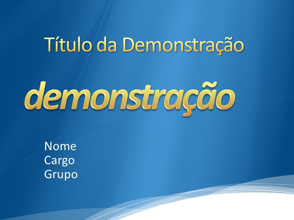 Nome Cargo Grupo