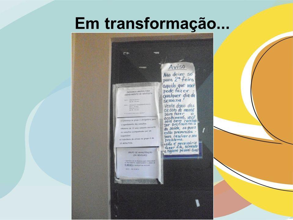 Em transformação...