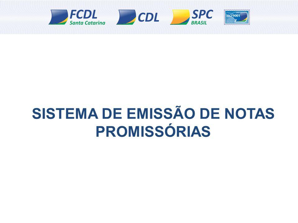 SISTEMA DE EMISSÃO DE NOTAS PROMISSÓRIAS