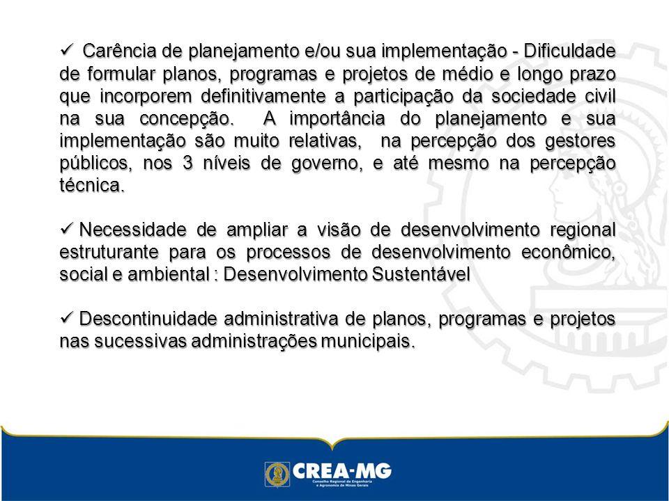 Dificuldade de articulação intra e inter instâncias governamentais na implementação das políticas públicas.