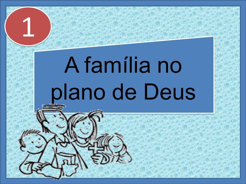 A família no plano de Deus 1 1