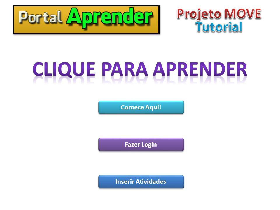 Para acessar o portal aprender, digite o endereço a seguir no seu navegador, depois clique em PORTAL APRENDER: www.seduc.camacari.ba.gov.br Início Voltar