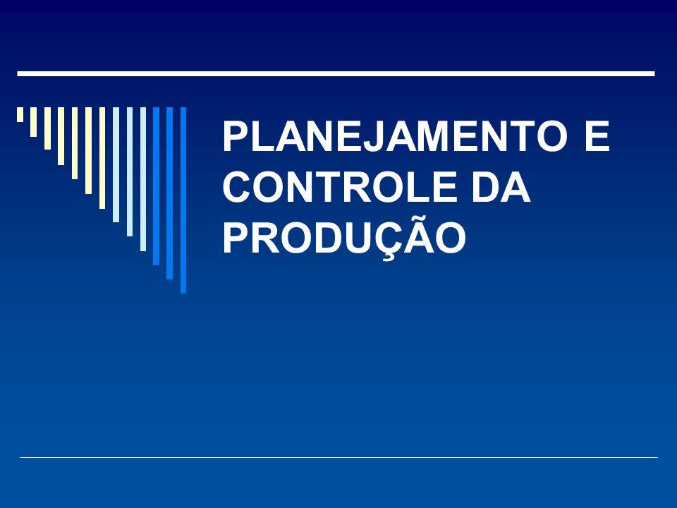 Conciliação de fornecimento e demanda  as atividades de planejamento e controle servem para adequar os sistemas, artifícios e desembaraços que harmonizam os recursos da operação e o conjunto de demandas.