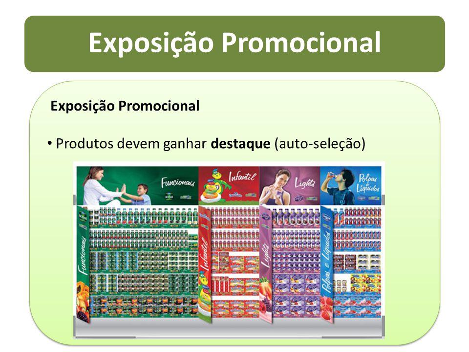 Exposição Promocional Produtos devem ganhar destaque (auto-seleção) Exposição Promocional Produtos devem ganhar destaque (auto-seleção)