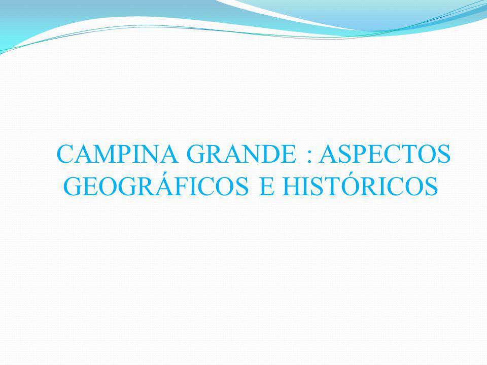 Aspectos geográficos Localizada no nordeste do Brasil e no estado da Paraíba Situada na mesorregião do agreste paraibano, na zona oriental, no planalto da Borborema.