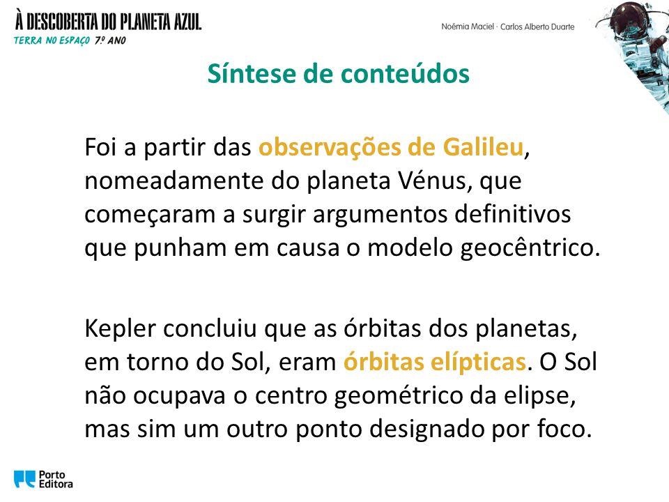 Foi a partir das observações de Galileu, nomeadamente do planeta Vénus, que começaram a surgir argumentos definitivos que punham em causa o modelo geocêntrico.