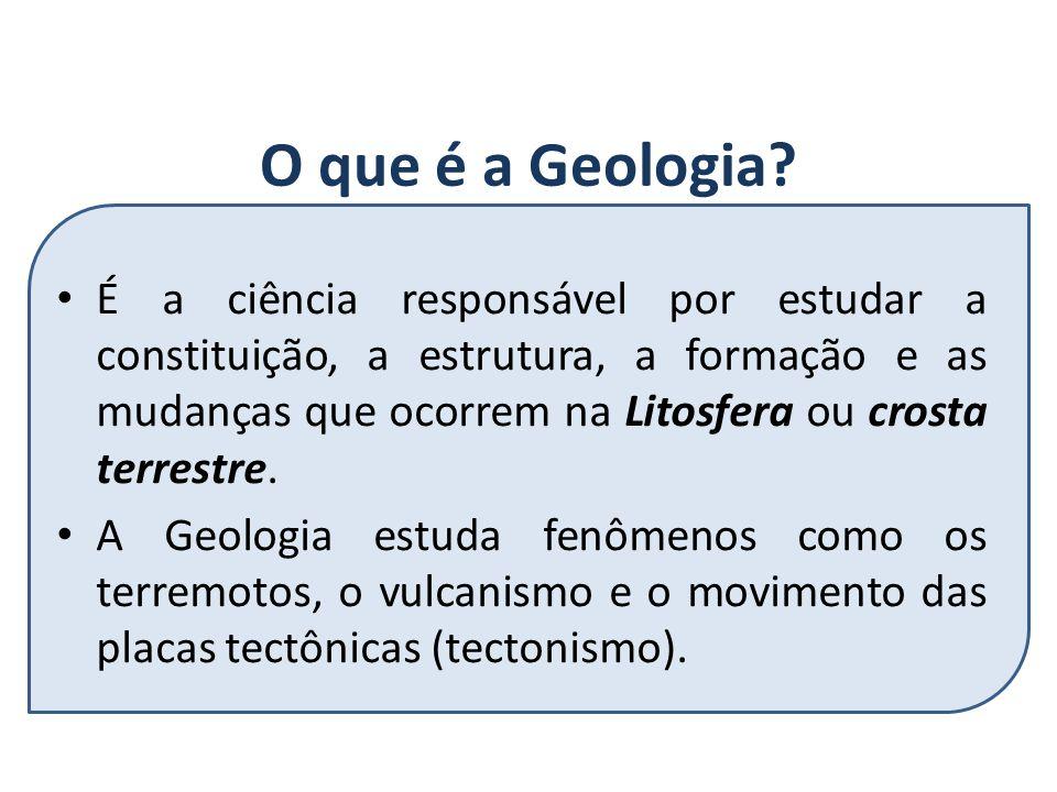 O que é a Geologia.