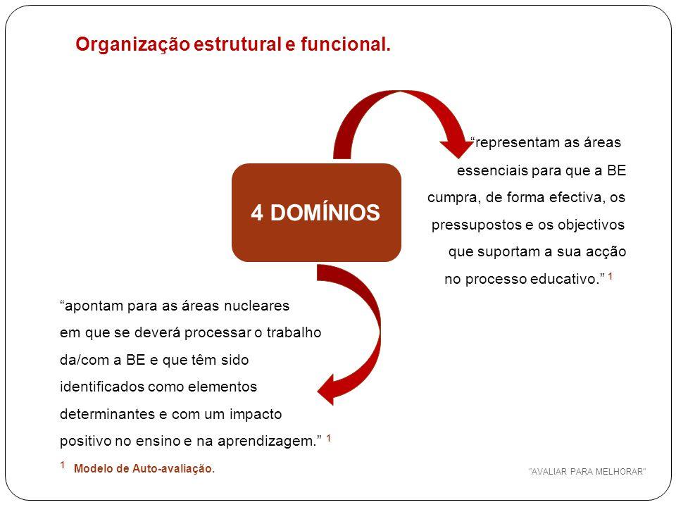 Organização estrutural e funcional.