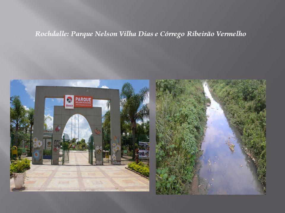 Rochdalle: Parque Nelson Vilha Dias e Córrego Ribeirão Vermelho