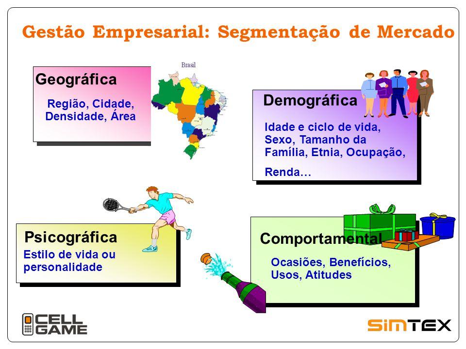 PRINCIPAIS VARIÁVEIS DE SEGMENTAÇÃO GEOGRÁFICAS - Região, tamanho do Município,etc.