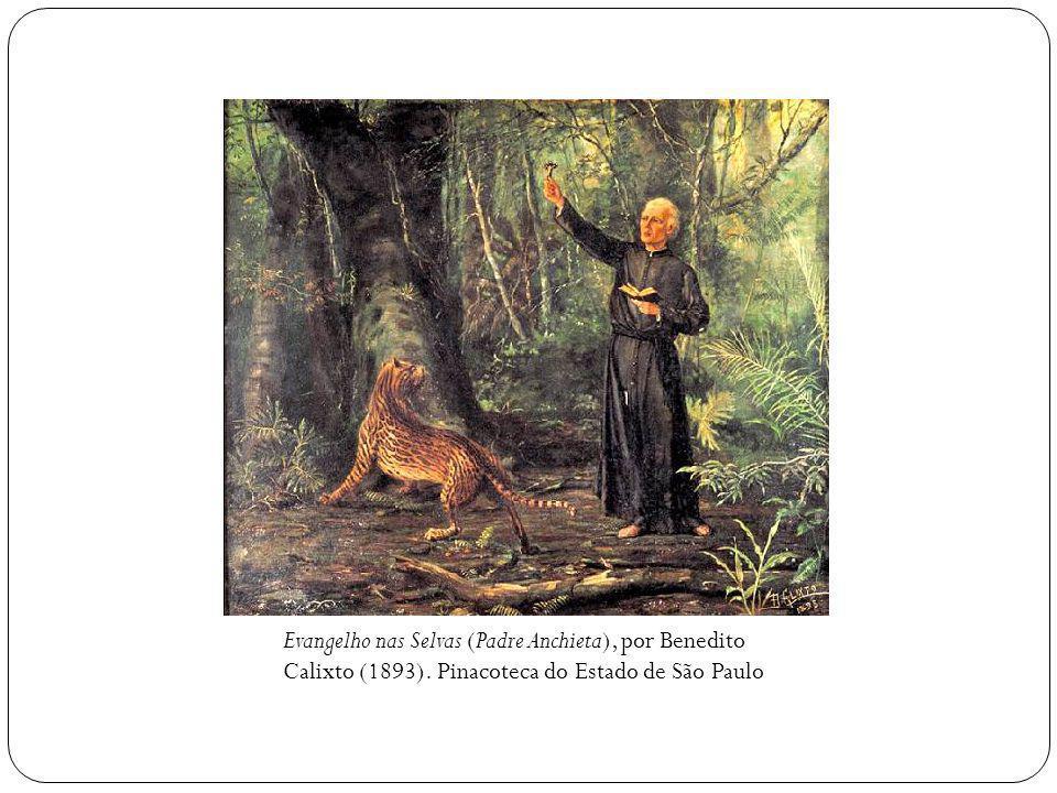 Evangelho nas Selvas (Padre Anchieta), por Benedito Calixto (1893).