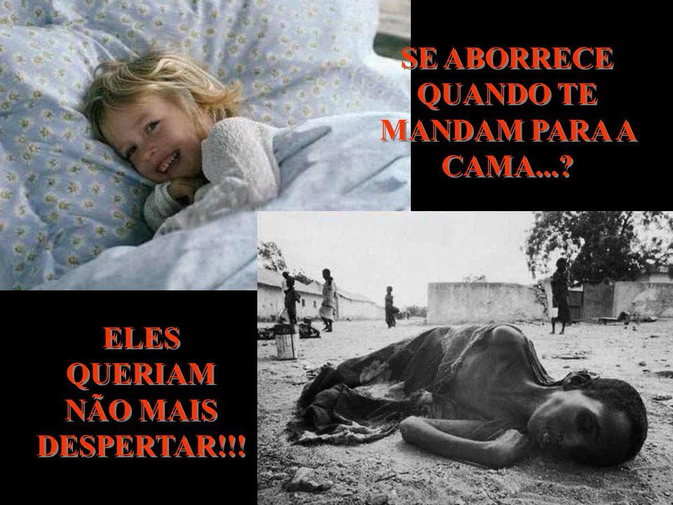 SE ABORRECE QUANDO TE MANDAM PARA A CAMA...? ELES QUERIAM NÃO MAIS DESPERTAR!!!