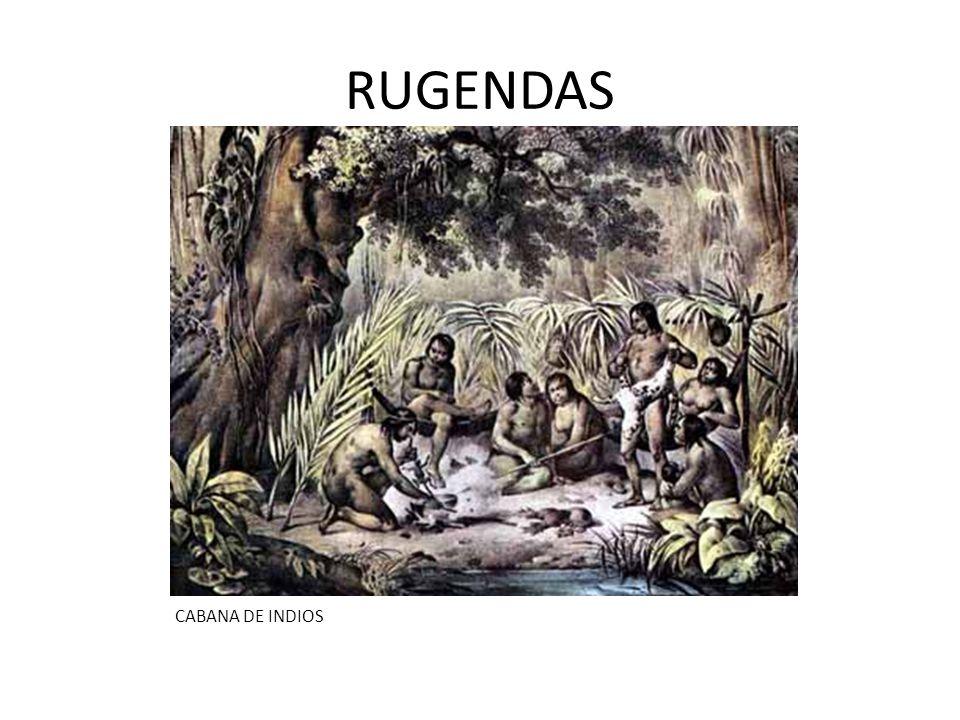 RUGENDAS CABANA DE INDIOS