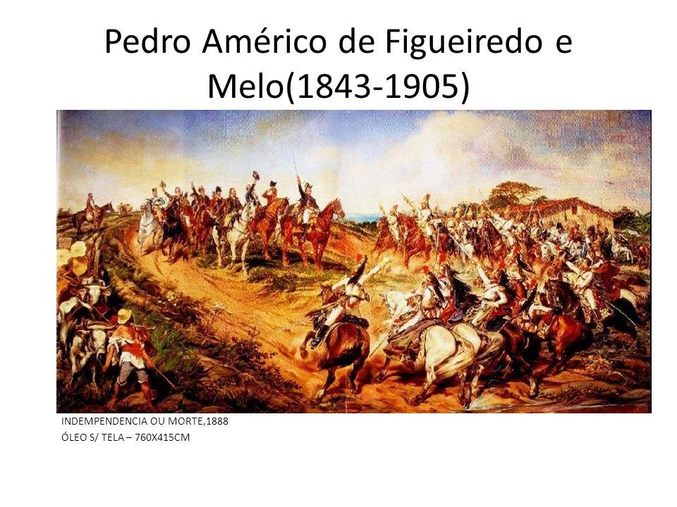 Pedro Américo de Figueiredo e Melo(1843-1905) INDEMPENDENCIA OU MORTE,1888 ÓLEO S/ TELA – 760X415CM