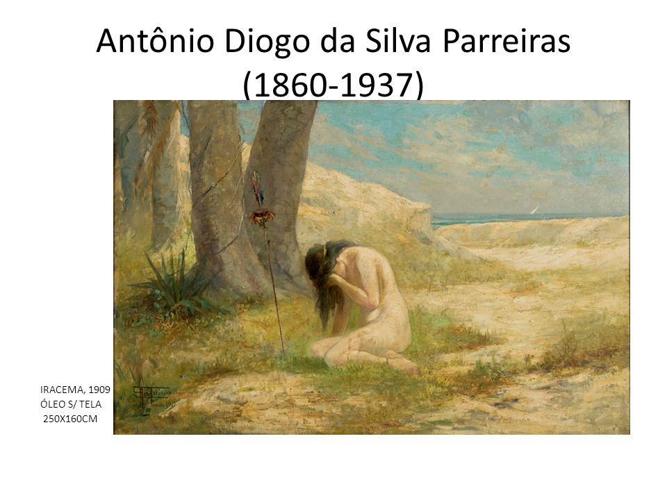 Antônio Diogo da Silva Parreiras (1860-1937) IRACEMA, 1909 ÓLEO S/ TELA 250X160CM