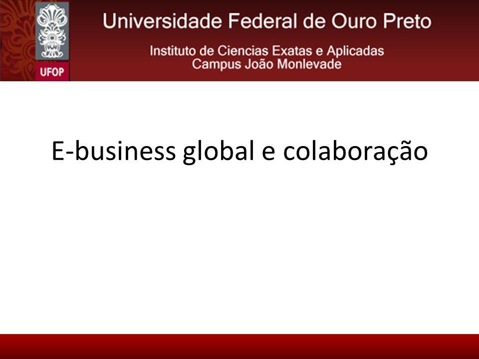 E-business global e colaboração