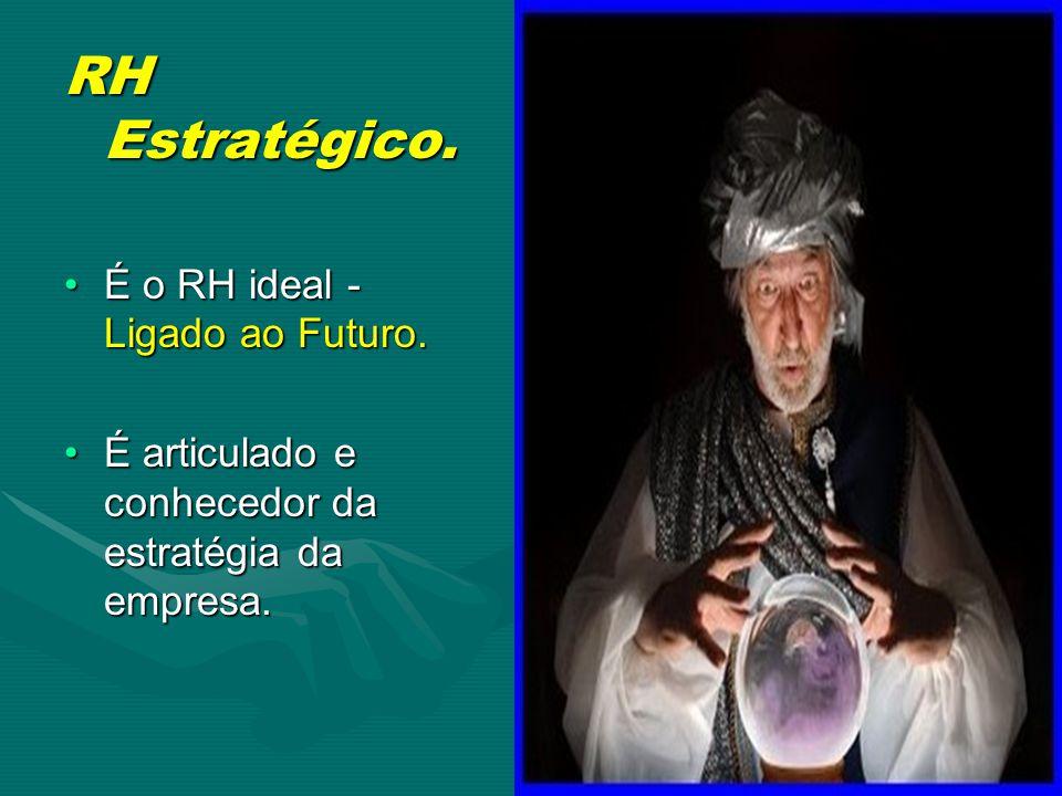 RH Estratégico.É o RH ideal - Ligado ao Futuro.É o RH ideal - Ligado ao Futuro.