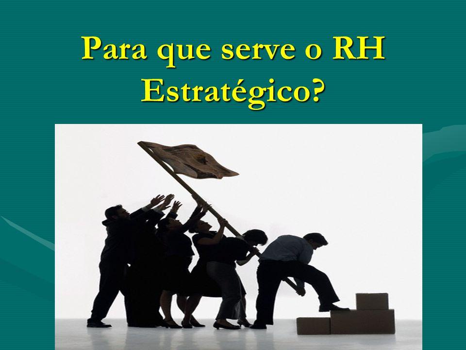 Para que serve o RH Estratégico?