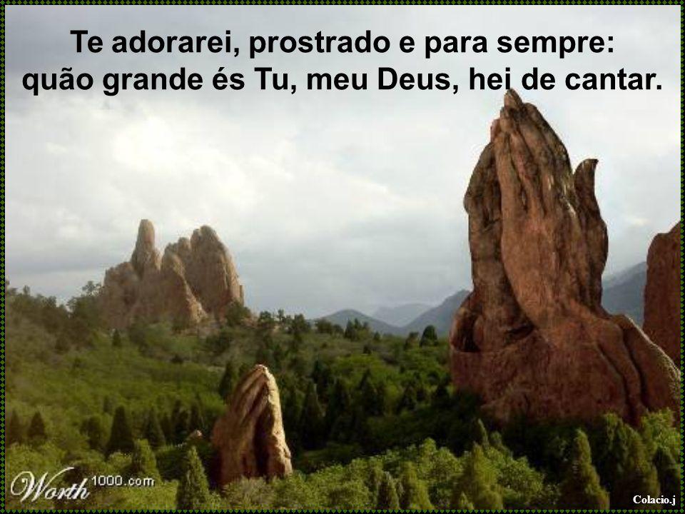 Colacio.j Quando enfim, Jesus vier em glória e ao lar celeste então me transportar