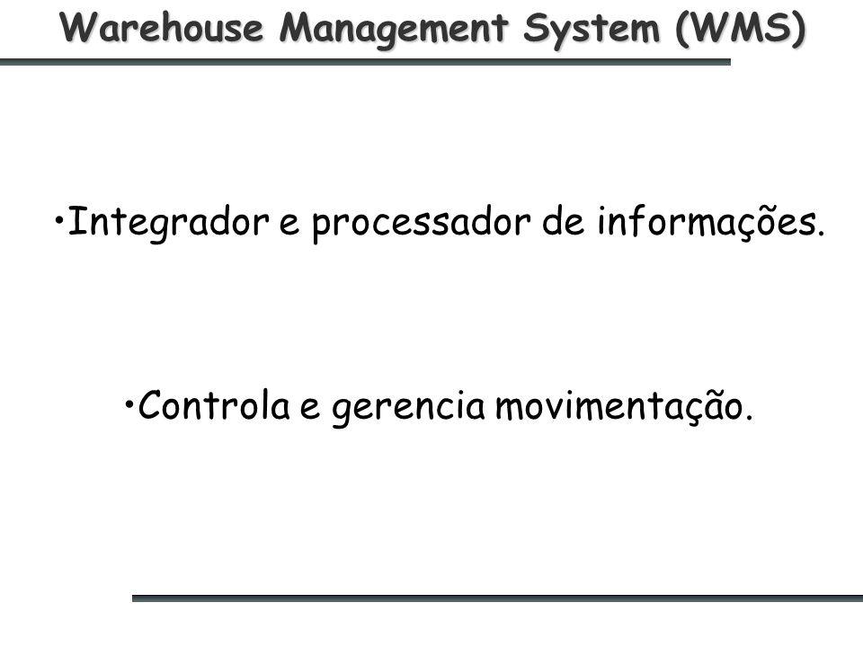 Warehouse Management System (WMS) Integrador e processador de informações.
